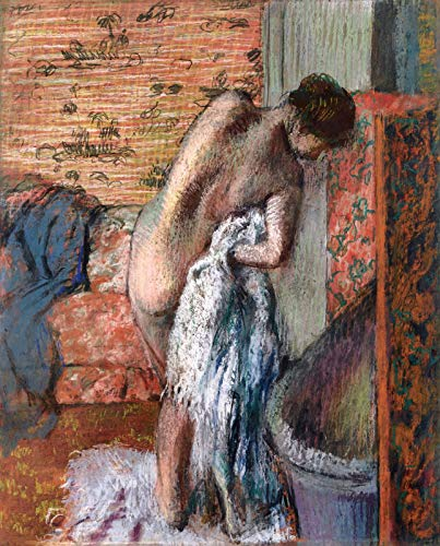 Edgar Degas After The Bath ~ Woman Drying Herself 1882-1885 Private Collection 30