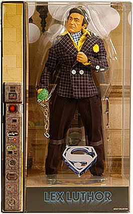 Mattel DC Universe 2011 Movie Masters Exclusive 12 Inch Deluxe Action Figure Gene Hackman as Lex Luthor