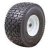 "Marathon 15x6.50-6"" Flat Free Tire on Wheel, 3"" Hub, 3/4"" Bearings"