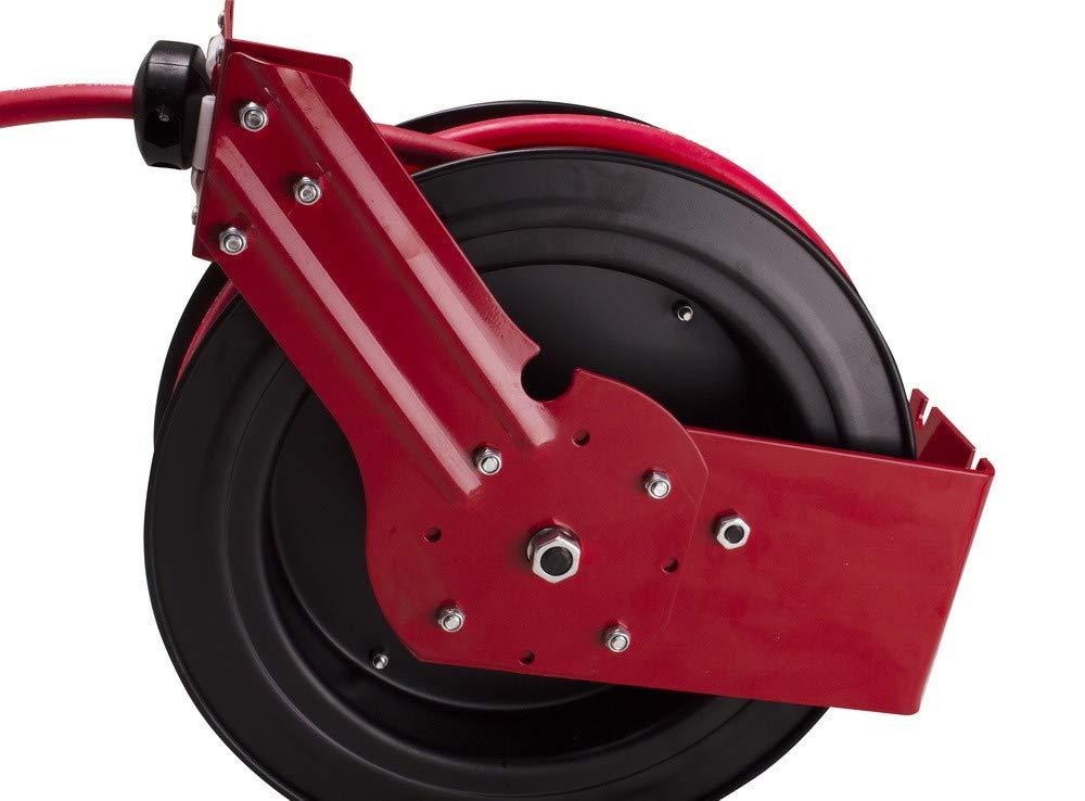 300 psi Schlauchtrommel mit Druckluft 20 Meter 20 bar Professionell aus Stahl