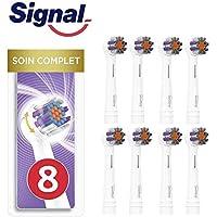Signal Integral 8 Cabezales eléctricos de cuidado completo