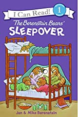 The Berenstain Bears' Sleepover (I Can Read Level 1) Paperback