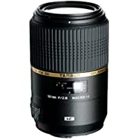 Tamron F004 90mm F/2.8 Macro VC USD Lens for Canon - International Version