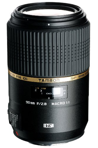 Price comparison product image Tamron F004 90mm F / 2.8 Macro VC USD Lens for Canon - International Version