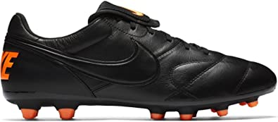 Movilizar Mago Intermedio  Amazon.com: Nike Men 's Premier II FG tacos de fútbol (negro, naranja),  negro: Shoes