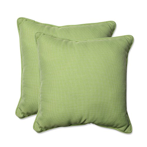 Pillow Perfect Outdoor/Indoor Tweed Throw Pillow (Set of 2), 18.5