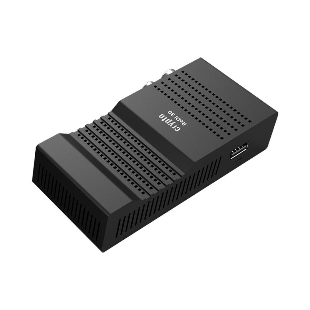 Crypto Redi 30P Mini Receptor DVBT2 Full HD con H.265 / HEVC, Dolby