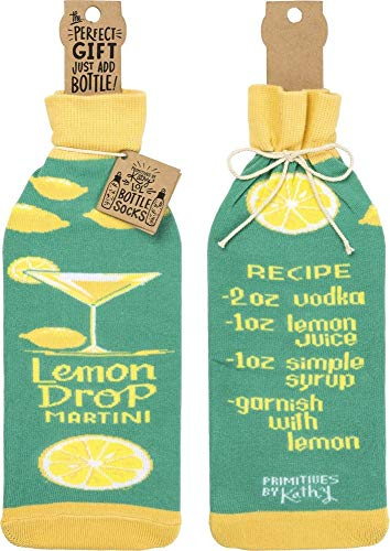 Lemon Drop Martini Recipe Bottle Sock