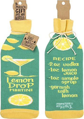 Lemon Drop Martini Recipe Bottle Sock