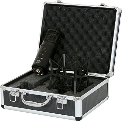(GALAXY AUDIO CLASSIC STUDIO CONDENSOR MICROPHONE ST-328 IN FLIGHT CASE)