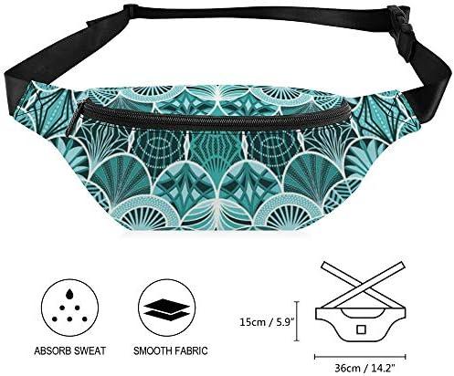 デコピーコック ウエストバッグ ショルダーバッグチェストバッグ ヒップバッグ 多機能 防水 軽量 スポーツアウトドアクロスボディバッグユニセックスピクニック小旅行