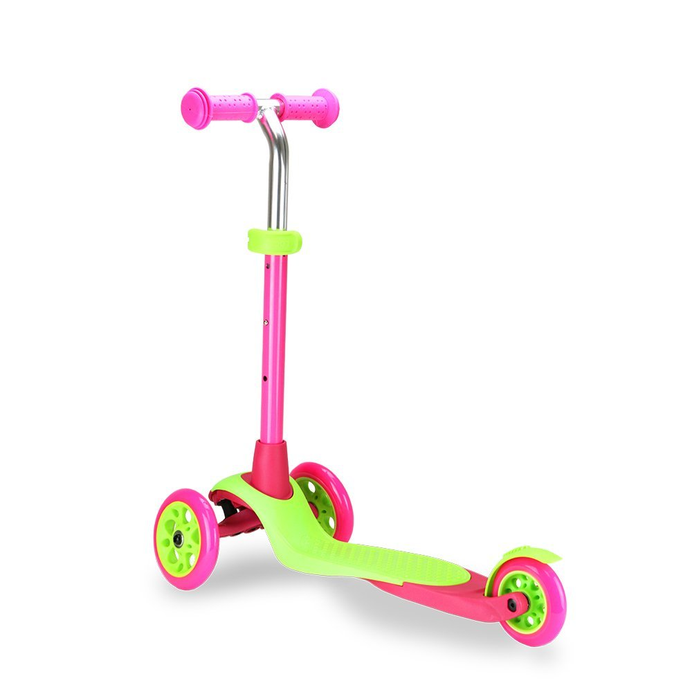 Zycom Zing 3 Wheel Adjustable Mini Kick Scooter with T-Bar
