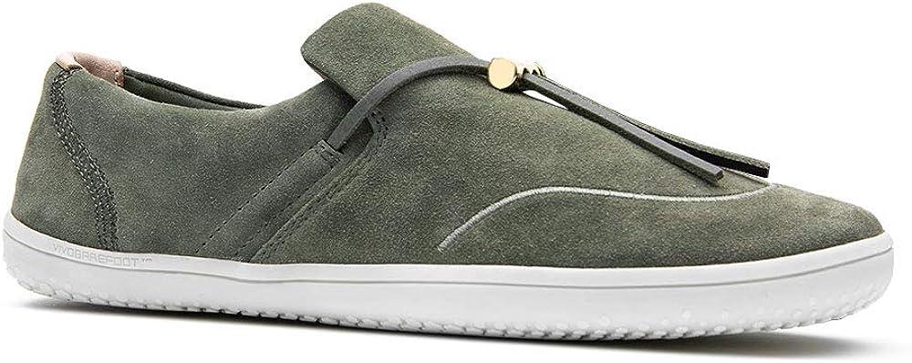 Vivobarefoot Ra Slip On, Womens Premium Slip On, with Barefoot Sole