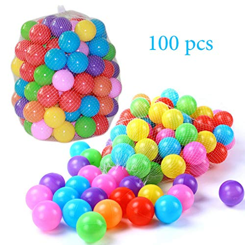 SHUO Free BPA Crush Proof Plastic Ball, Pit Balls Colorful, used for sale  Delivered anywhere in Canada