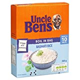 Uncle Ben's Boil in the Bag Basmati Rice (4x125g) - Pack of 6