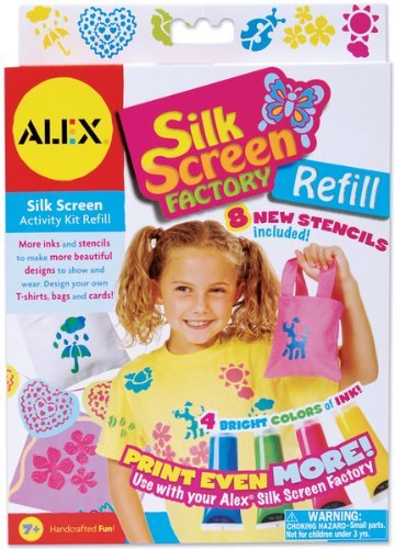 - ALEX Toys Craft Silkscreen Factory Refill