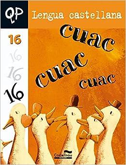 Qp Lengua Castellana 16 Cuadernos de Primaria - 9788498041439: Amazon.es: S.A.U. Hermes Editora General: Libros
