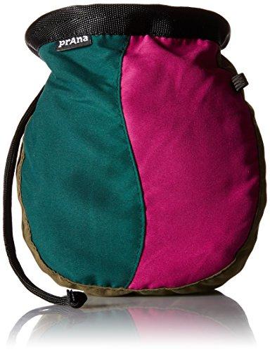 prAna Geo Chalk Bag with Belt, One Size, Khaki (Prana Chalk Bag)