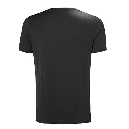 Helly Hansen HP Shore T-Shirt - Camiseta, Hombre, Negro(981 Ebony ...