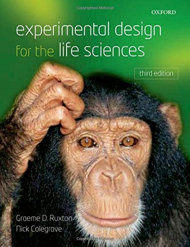 Experimental Design for the Life Sciences by Oxford University Press
