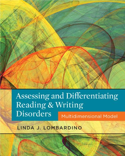 Assessing and Differentiating Reading and Writing Disorders: Multidimensional Model Pdf