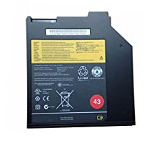 JIAZIJIA 43 3-Cell Ultrabay Battery for Lenovo ThinkPad T400S T410S T420S T430S 0A36310 45n1040 45n1041