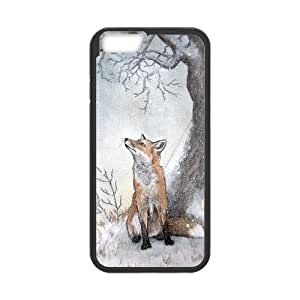 "DDOUGS Vulpes High Quality Cell Phone Case for Iphone6 Plus 5.5"", Personalized Vulpes Case"
