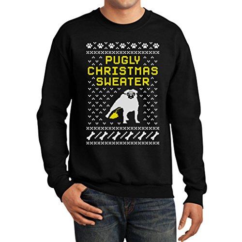 Pugly Christmas Sweater - Funny Pug Ugly Christmas