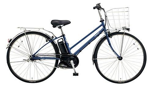 Panasonic(パナソニック) 2018年モデル ティモEX 27インチ カラー:インディゴブルーメタリック BE-ELET754-V 電動アシスト自転車 専用充電器付 B078HL3K6Q