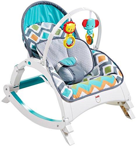 Fisher-Price Newborn-to-Toddler Rocker, Glacier Wave