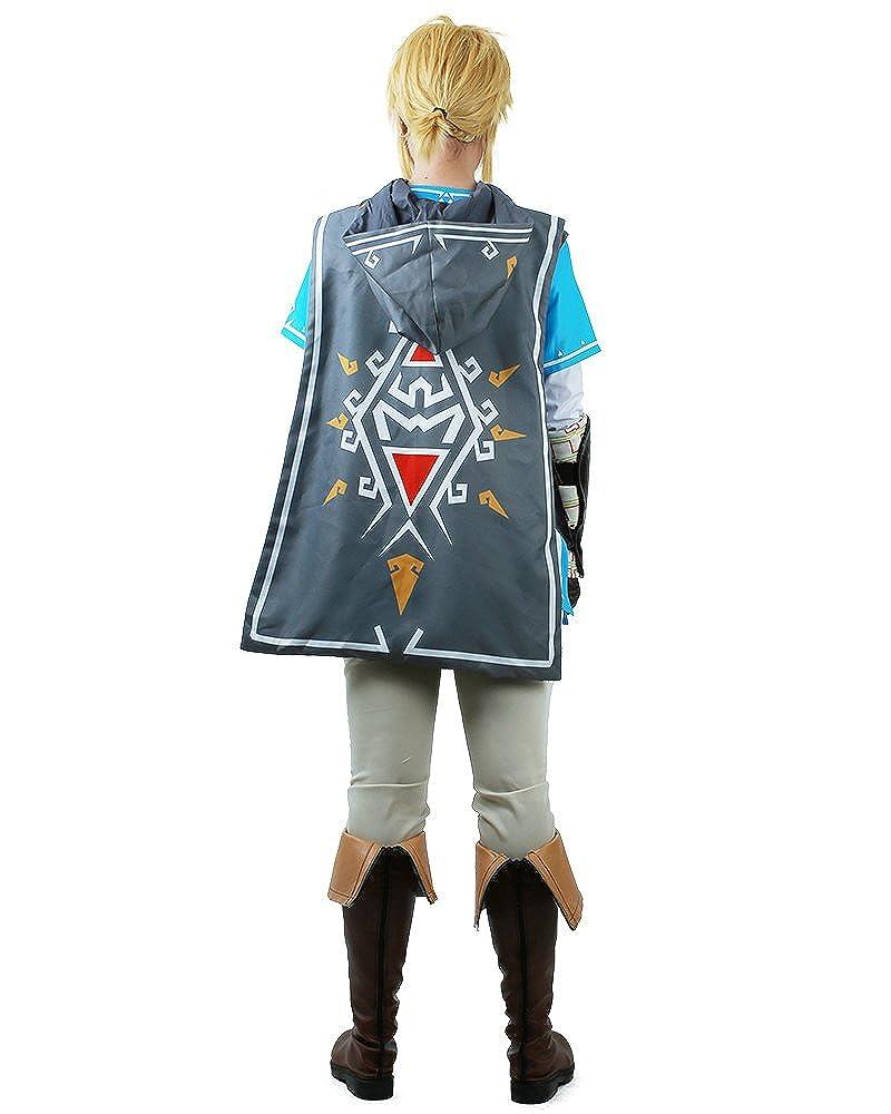 33ee785d87 Amazon.com  Miccostumes Men s Breath Wild Link Cosplay Costume  Clothing