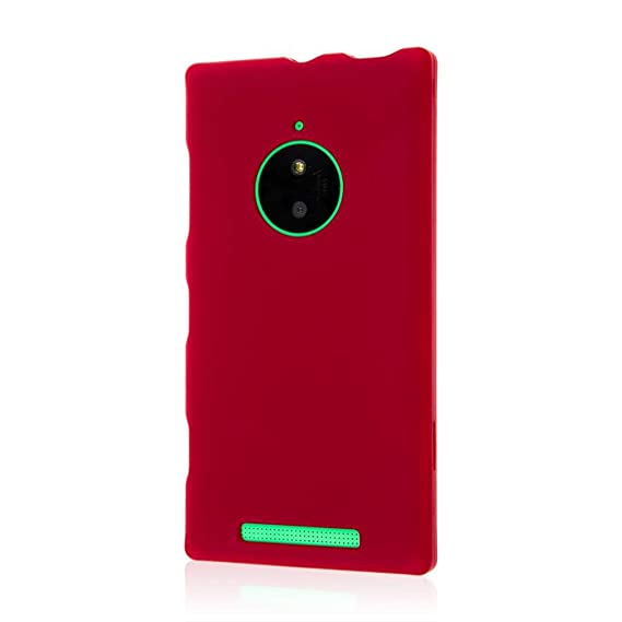 the best attitude 116e9 ee179 Nokia Lumia 830 Case, MPERO SNAPZ Series Two Piece Rubberized Textured Non  Slip Polycarbonate Durable Hard Snap-On Case for Lumia 830 [Perfect Fit &  ...