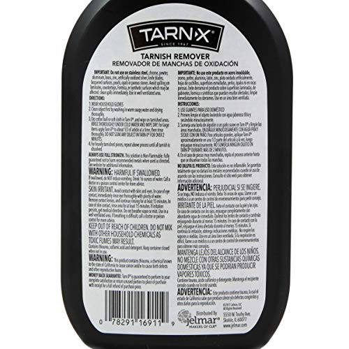 Tarn-X Tarnish Remover, 12 Ounce Bottle (Packaging May Vary)