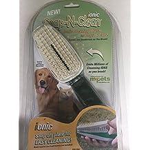 Snap - n-clean Ionic Pet Brush