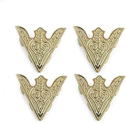 2 pares broche Pin de Cols Clips con puntas de cuello para camisa oro: Amazon.es: Joyería