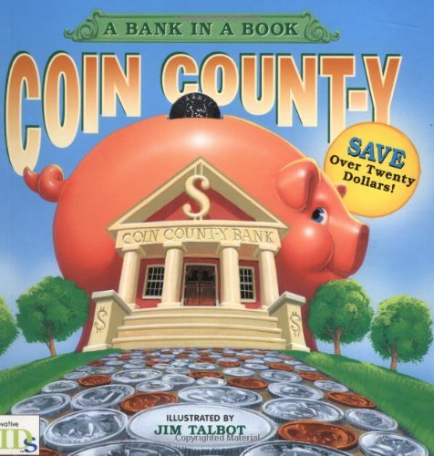 Coin County  A Bank In A Book