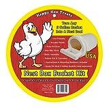 Happy Hen Treats 17032 Poultry Nest Box Bucket Kit - Quantity 6