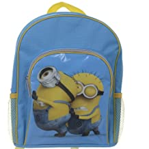 Despicable Me 2 Backpack With Pocket - Pushing Minions (Dispatched From UK)