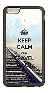 Generic Custom Picture Keep Calm And Travel A Lot TPU Rubber Snap On Skin Cover Back Cell Phone Case For iPhone 6 Plus