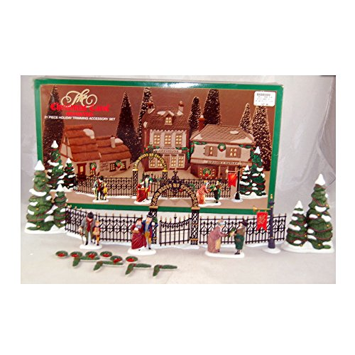 Department 56 Dickens Village The Christmas Carol Revisited 21 Piece Holiday Trimming Accessory Set 5831-9 (Christmas Villages Sets)
