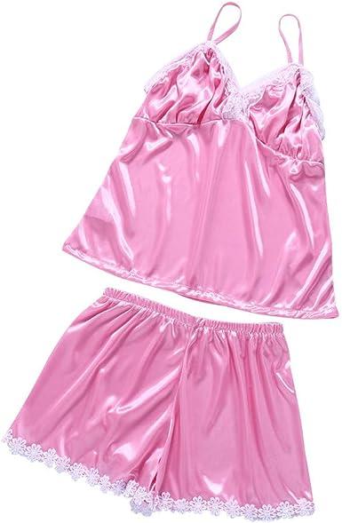 ACEBABY Pijamas Sexy, lencería Sexy, Pantalones para Dormir ...