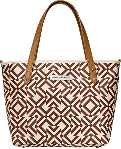 Petunia Pickle Bottom Downtown Tote Mini Diaper Bag in Mazes