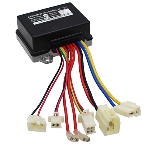 (LotFancy 24V Control Module for Razor E200 (V13+), E300 (V13+), MX350, MX400 Dirt Rocket (V33+) and Pocket Mod (V45+) Electric Scooters, ZK2430-D-FS-ROHS, Replace W13113430164)