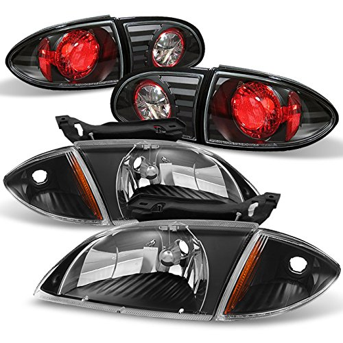 lier Base Z24 LS Model Black Headlights +Corner Signal +Black Tail Lights ()