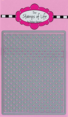 Dotted Background Dies for Card Making and Scrapbooking by The Stamps of Life - Patterns and Backgrounds ()