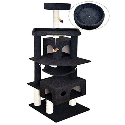Merveilleux Vidagoods 72u0027u0027 Tall Big Fat Cat Tree Solid Condo Furniture Scratch Post  Play House