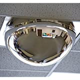 """Relius Solutions Drop-In Panoramic Dome Mirror - For Use With 24X24"""" Ceiling Tiles - 24x24"""""""
