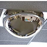 Relius Solutions Drop-In Panoramic Dome Mirror - For Use With 24X24'' Ceiling Tiles - 24x24''