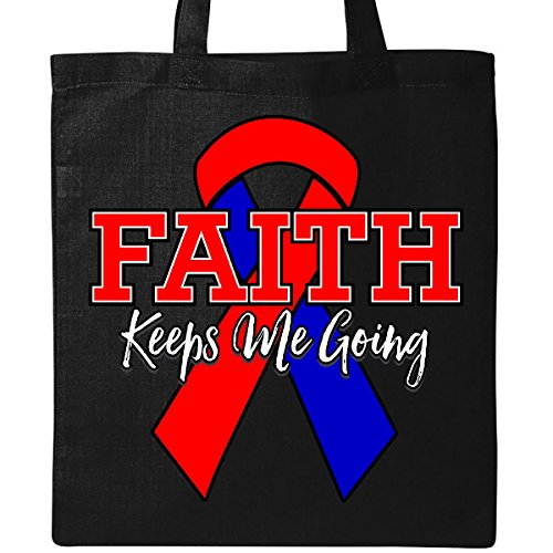 Inktastic - CHD Faith Keeps Me Going Tote Bag Black by inktastic