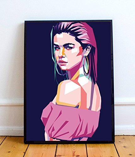 Selena Gomez Limited Poster Artwork – Professional Wall Art Merchandise (More (8×10)